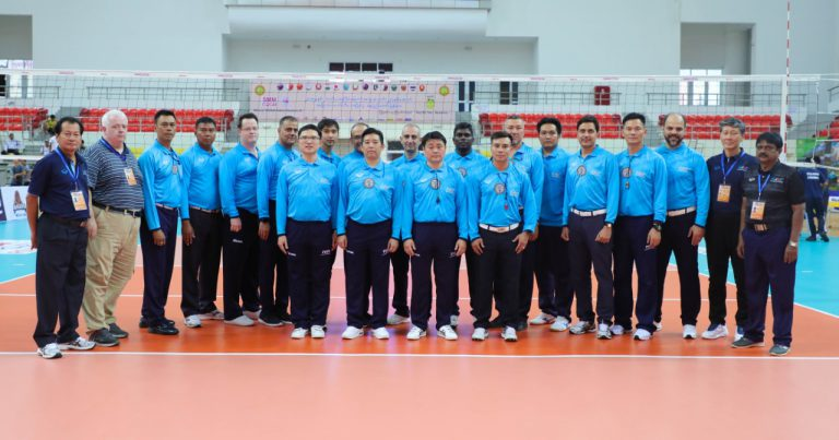 AVC NAMES REFEREES TO OFFICIATE AT 3rd ASIAN MEN'S U23 CHAMPIONSHIP