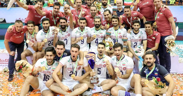 IRAN ON CLOUD NINE TO RECLAIM ASIAN CROWN ON HOME SOIL