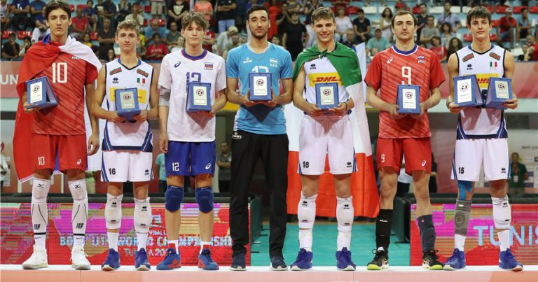 TOMMASO RINALDI NAMED MVP OF U19 WORLD CHAMPIONSHIP
