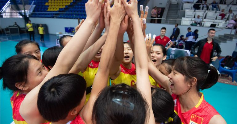 CHINA TAKE DOWN ROMANIA TO MAKE GIRLS' U18 WORLDS SEMIFINALS