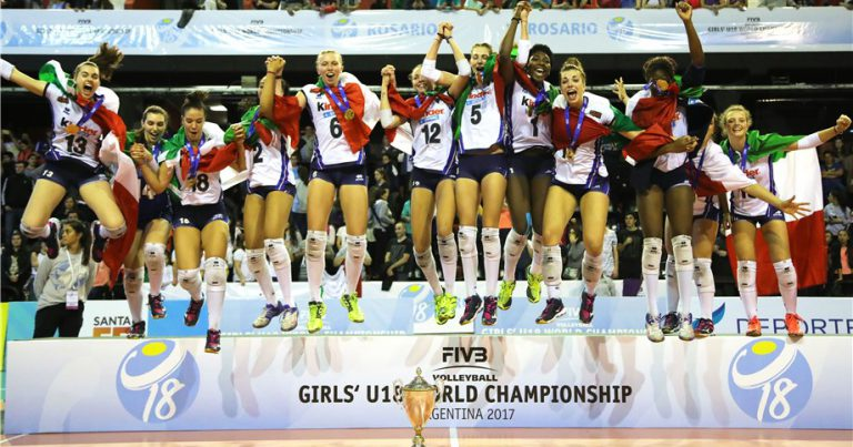 BUDDING VOLLEYBALL STARS IN GLOBAL DEBUT AT GIRLS' U18 WORLDS