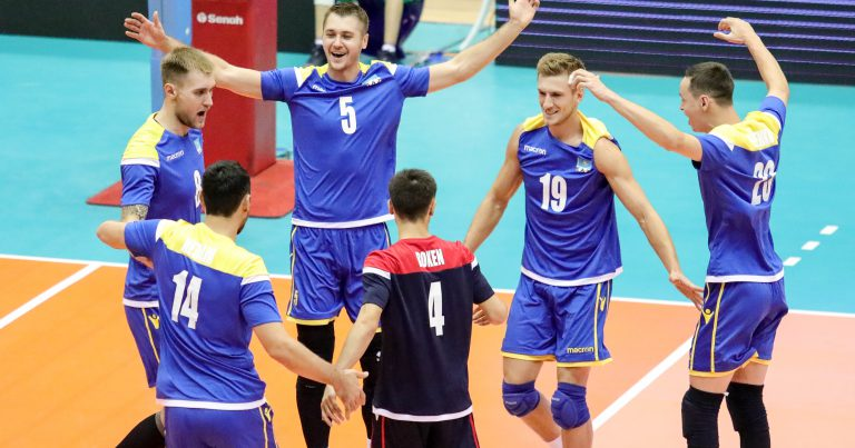 KAZAKHSTAN POWER PAST QATAR IN CLOSELY-CONTESTED AFFAIR
