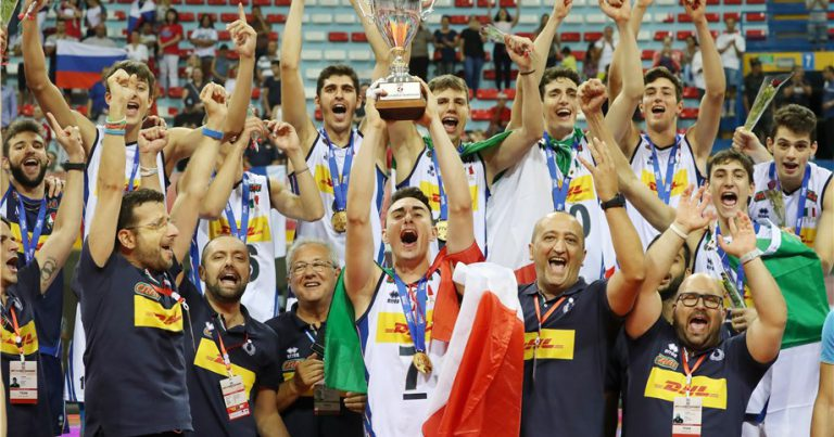 ITALY'S BOYS' U19 WORLDS GOLD SHOWCASES NEW VOLLEYBALL GENERATION