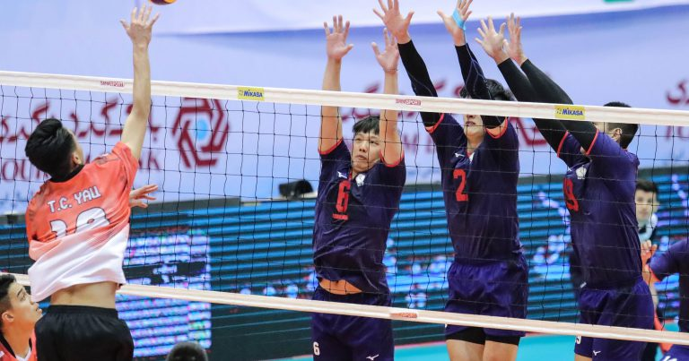 CHINESE TAIPEI SEE OFF HONG KONG CHINA IN STRAIGHT SETS