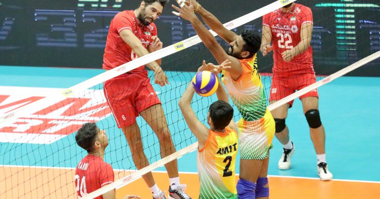 IRAN WIN TOP 8 PLAYOFF MATCH WITH 3-0 DEMOLITION OF INDIA