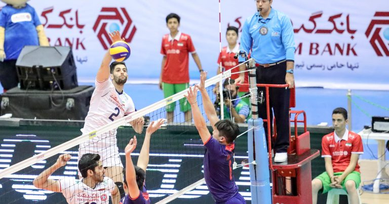 GHAFOUR INSTRUMENTAL IN LIFTING IRAN'S 3-0 VICTORY OVER CHINESE TAIPEI