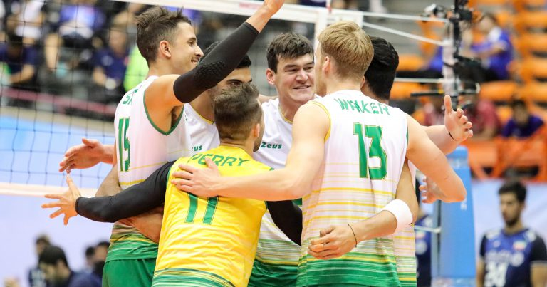 EDGAR STEERS THE VOLLEYROOS TO TERRIFIC COMEBACK WIN AGAINST HOSTS IRAN