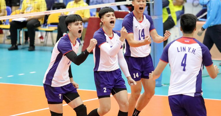 CHINESE TAIPEI PUT IT PAST THAILAND IN FOUR SETS