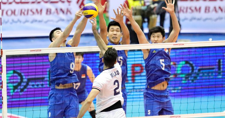 JAPAN, KOREA AND AUSTRALIA REMAIN ON COURSE AT ASIAN SENIOR MEN'S CHAMPIONSHIP
