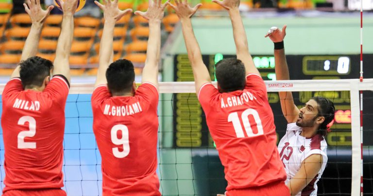 FAVOURITES TURN UP THE HEAT ON LOWER-RANKED RIVALS AT ASIAN SENIOR MEN'S CHAMPIONSHIP IN IRAN
