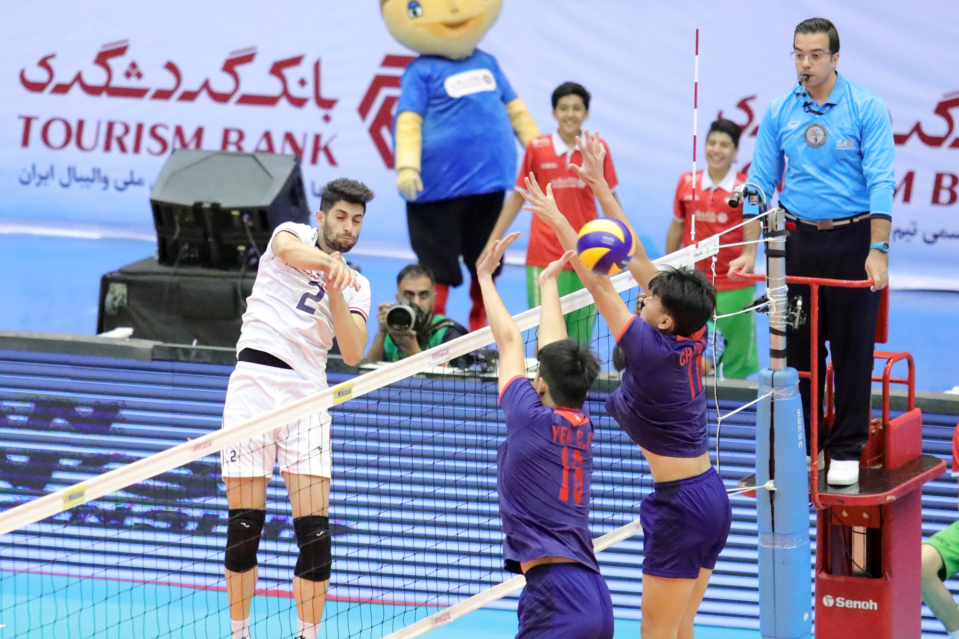 IRAN, KOREA SET FOR CLASH OF TITANS AND AUSTRALIA, JAPAN FACE OFF AT ASIAN SENIOR MEN'S CHAMPIONSHIP SEMI-FINALS