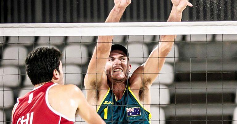 MAX GUEHRER: 4X4 BEACH VOLLEYBALL SPEEDS YOU UP