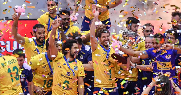 BRAZIL CROWNED MEN'S WORLD CUP CHAMPIONS