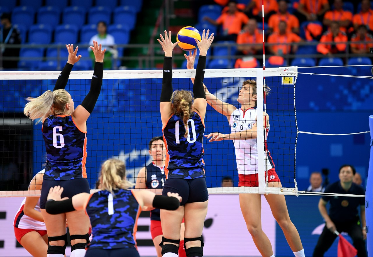 BRAZIL, FRANCE, DPR KOREA AND HOSTS CHINA VICTORIOUS AT MILITARY WORLD GAMES WOMEN'S TOURNAMENT