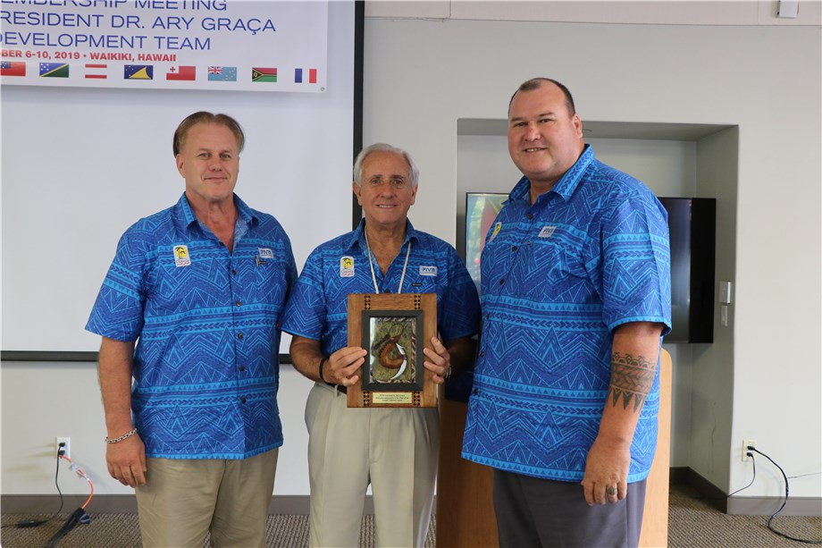 OCEANIA ZONAL VOLLEYBALL ASSOCIATION OUTLINE STRATEGY TO FIVB PRESIDENT