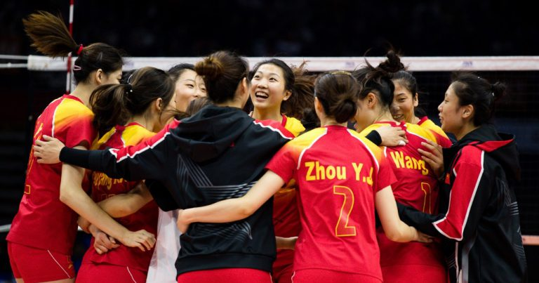 CHINA, BRAZIL SET UP FINAL CLASH AT CISM MILITARY WORLD GAMES WOMEN'S VOLLEYBALL COMPETITION