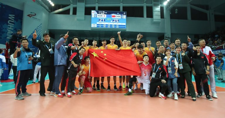 CHINA CAPTURE MILITARY WORLD GAMES GOLD AFTER STUNNING 3-1 WIN AGAINST UNBEATEN KOREA IN SHOWDOWN