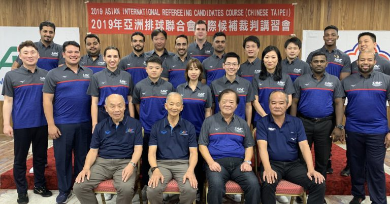 ASIAN INTERNATIONAL REFEREEING CANDIDATE COURSE GETS UNDER WAY IN CHINESE TAIPEI