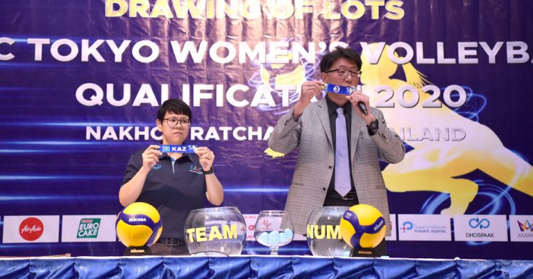 MATCH SCHEDULE CONFIRMED FOR AVC WOMEN'S TOKYO VOLLEYBALL QUALIFICATION