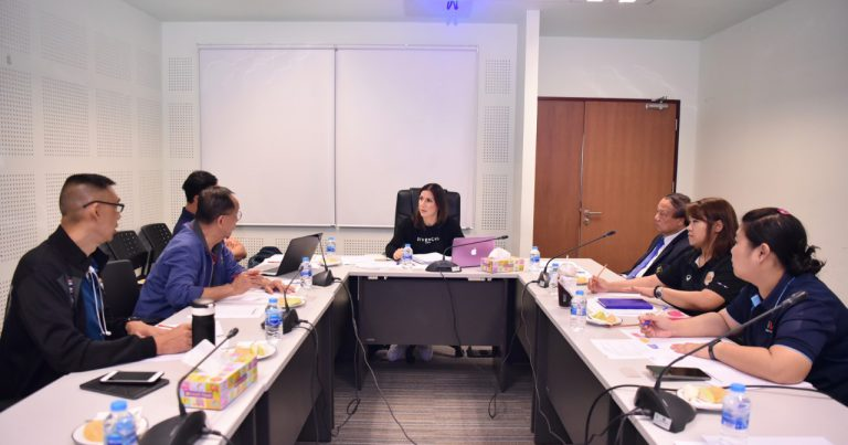 MEETING HELD TO DISCUSS EVALUATION OF HOST HOTEL FOR 2020 FIVB WORLD CONGRESS IN BANGKOK