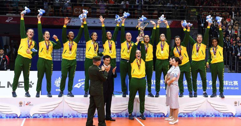 BRAZIL STUN UNBEATEN CHINA TO RETAIN CISM MILITARY WORLD GAMES TITLE