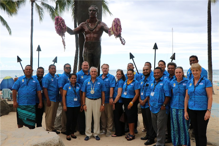 FIVB PRESIDENT HIGHLIGHTS IMPORTANCE OF GROWTH IN OCEANIA