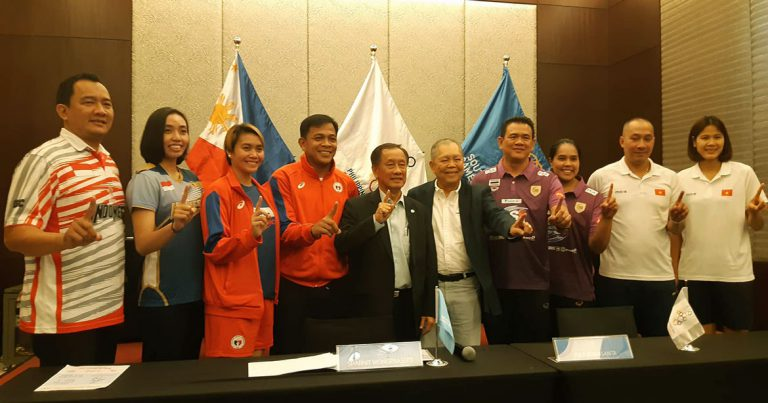 HOSTS PHILIPPINES TO MAKE ASEAN GRAND PRIX OCT 4-6 THE PHISGOC VOLLEYBALL TEST EVENT