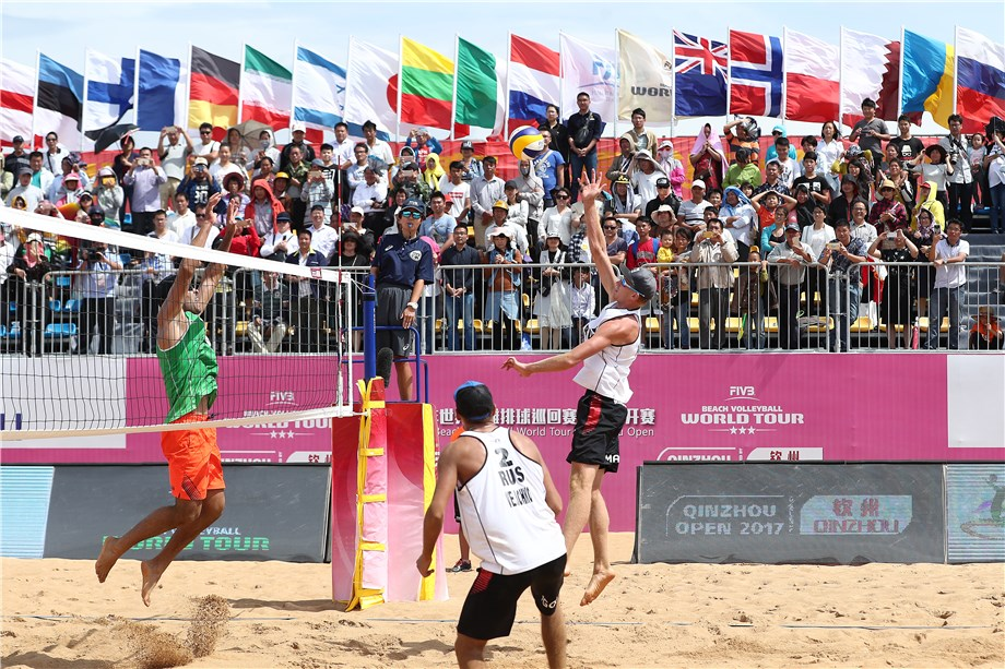 QINZHOU RETURNS TO THE FIVB WORLD TOUR CALENDAR FOR THE THIRD-STRAIGHT SEASON