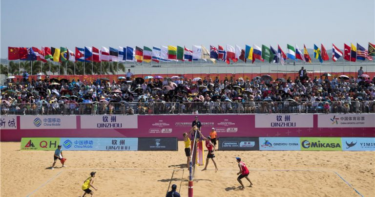 FIVB WORLD TOUR ACTION RESUMES IN CHINA