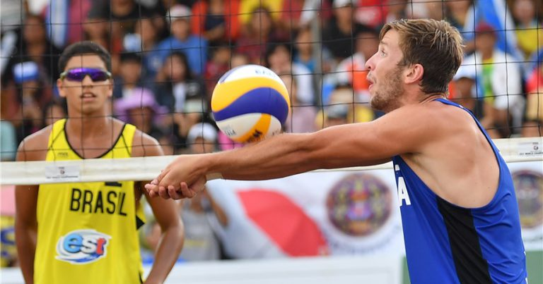 FROM SOUTH CHINA SEA TO THE MEDITERRANEAN FOR FIVB WORLD TOUR