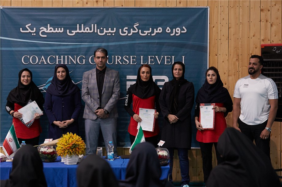 TWO LEVEL 1 COACHES COURSES COMPLETED IN IRAN