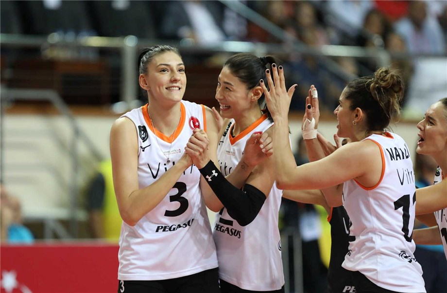 KIM, BOSKOVIC KEEN TO LEAD ECZACIBASI TO THIRD WORLD GOLD IN SHAOXING