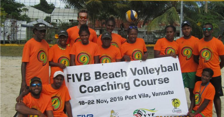 FIVB BEACH VOLLEYBALL COURSE A MAJOR STEP FOR BUDDING COACHES