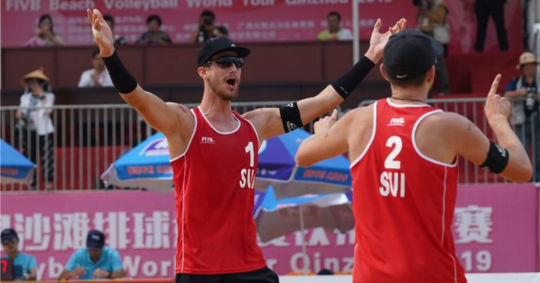 HEIDRICH AND GERSON TRIUMPH TO STAY ON COURSE FOR QINZHOU SEMIFINALS
