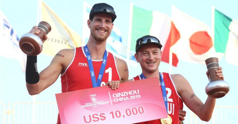 HEIDRICH AND GERSON WIN THEIR FIRST WORLD TOUR GOLD MEDAL IN QINZHOU
