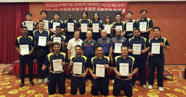 ASIAN INTERNATIONAL REFEREEING CANDIDATE COURSE COMPLETED IN CHINESE TAIPEI
