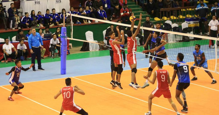 INDIAN MEN'S AND WOMEN'S VOLLEYBALL TEAMS THROUGH TO SEMI-FINALS OF 13TH SOUTH ASIAN GAMES