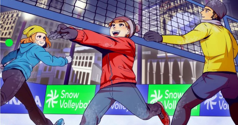 SNOW VOLLEYBALL FESTIVAL COMING TO LAUSANNE IN 2020