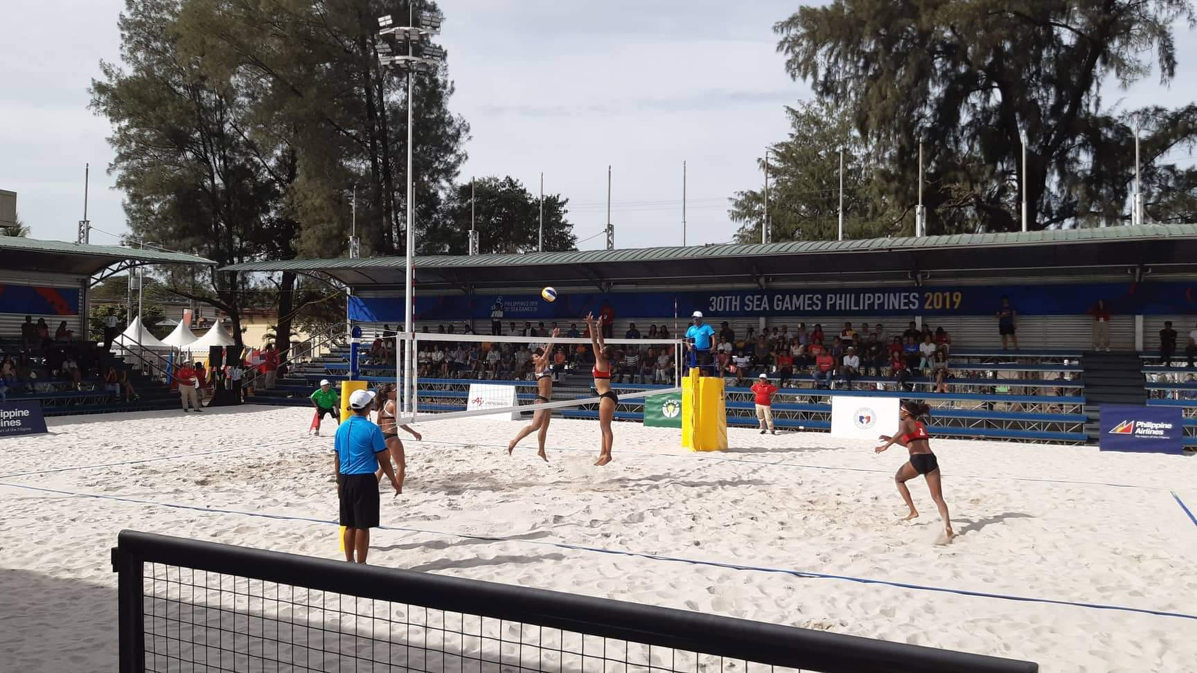 THAILAND, INDONESIA MAINTAIN UNBEATEN RUN AT 30TH SEA GAMES BEACH VOLLEYBALL COMPETITION