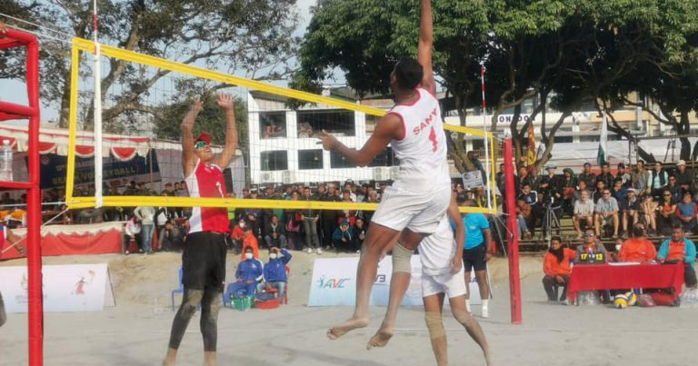 NEPALI TEAMS WIN THEM ALL ON DAY 2 OF 13TH SOUTH ASIAN GAMES BEACH VOLLEYBALL COMPETITION