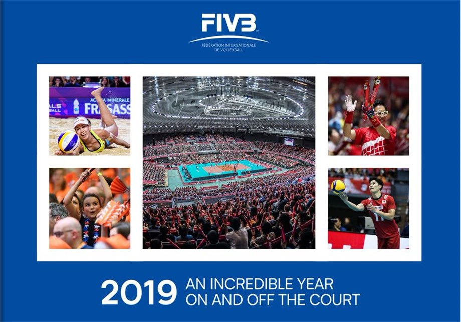 FIVB REFLECT ON AN INCREDIBLE 2019 ON AND OFF THE COURT
