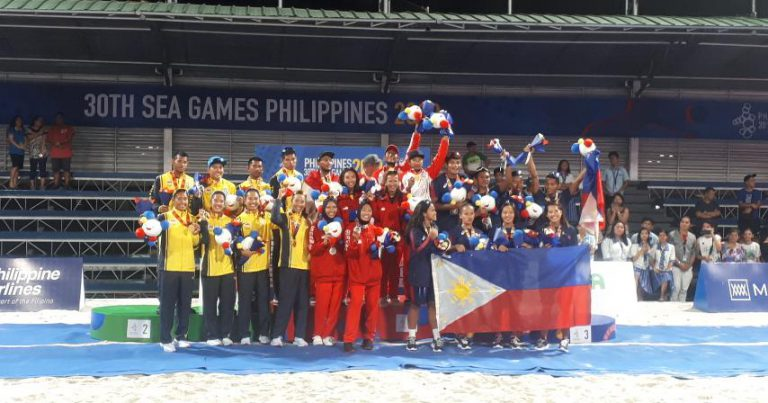 THAILAND SHARE HONOURS WITH INDONESIA AT 30TH SEA GAMES BEACH VOLLEYBALL COMPETITION
