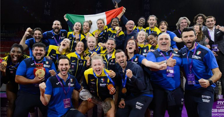 IMOCO VOLLEY CONEGLIANO CLINCH GOLD ON WOMEN'S CLUB WORLD CHAMPIONSHIP DEBUT