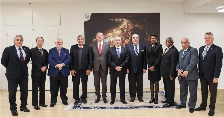 CONTINENTAL CONFEDERATIONS UNITED IN SUPPORT FOR FIVB PRESIDENT'S VISION FOR THE FUTURE