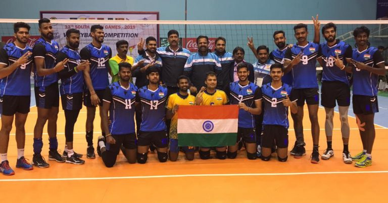 INDIAN MEN'S AND WOMEN'S TEAMS RETAIN THEIR TITLES AT 13TH SOUTH ASIAN GAMES