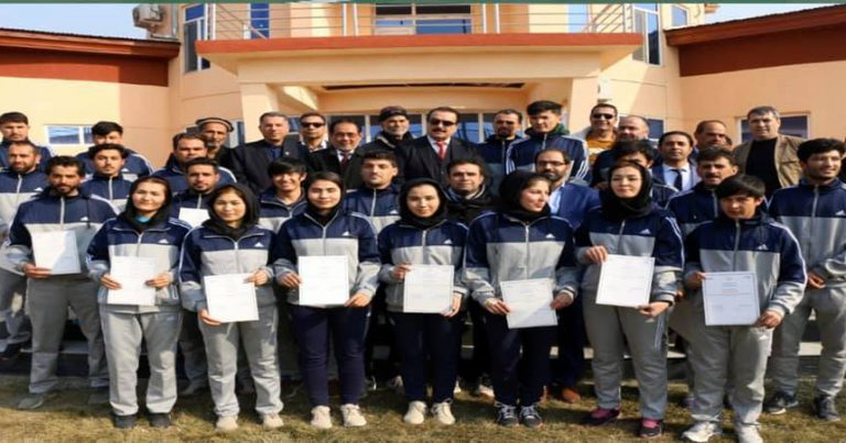 REFEREEING REFRESHER COURSE COMPLETED IN KABUL FOR FIRST TIME IN HISTORY OF VOLLEYBALL IN AFGHANISTAN