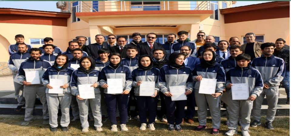 REFEREEINGREFRESHER COURSE COMPLETED IN KABUL FOR FIRST TIME IN HISTORY OF VOLLEYBALL IN AFGHANISTAN