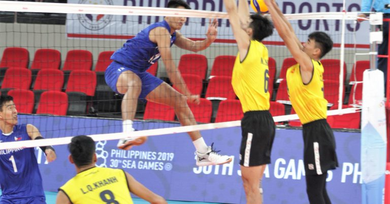 UNBEATEN PHILIPPINES AND INDONESIA SEAL SEMI-FINAL SPOTS AT 30TH SEA GAMES MEN'S VOLLEYBALL