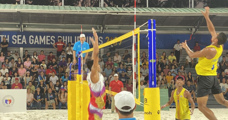 THAILAND, INDONESIA SET UP MEN'S SHOWDOWN, AS THAILAND WOMEN CLAIM EARLY GOLD MEDAL AT 30TH SEA GAMES BEACH VOLLEYBALL