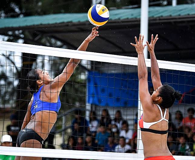 THAILAND MOVE A STEP CLOSER TO WINNING WOMEN'S GOLD MEDAL AT 30TH SEA GAMES BEACH VOLLEYBALL COMPETITION